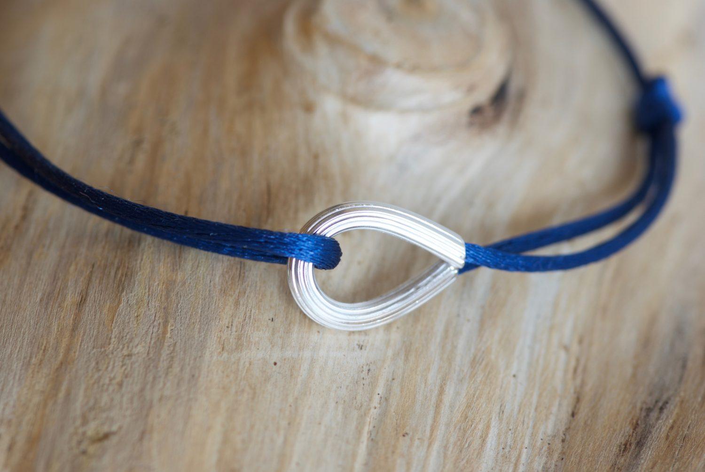Bracelet Cap Horn. Or gris.